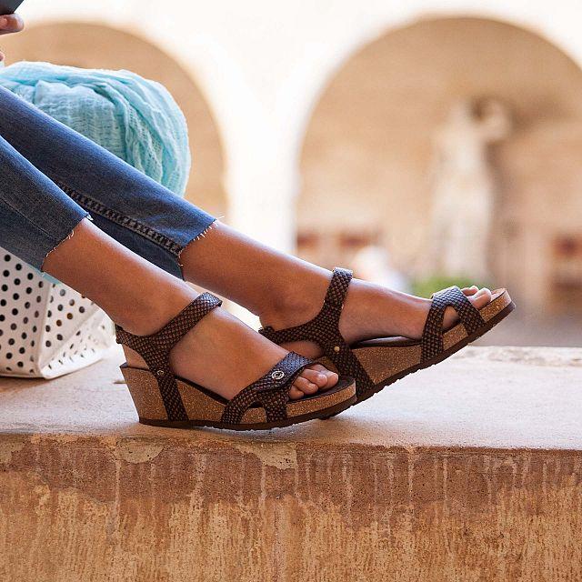 Julia Marron Napa Mujer Calzado
