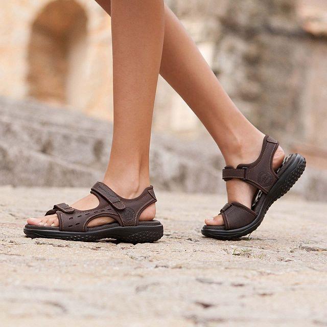 Panama Jack Nilo Marron Napa Grass Mujer Calzado