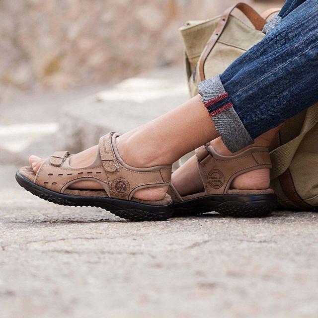 Nilo Taupe Napa Grass Mujer Calzado