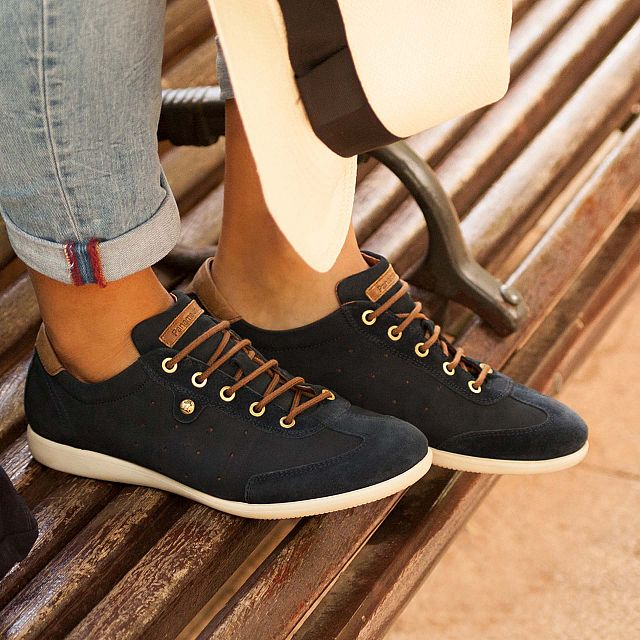 Noriega Navy blue Nobuck Man Footwear