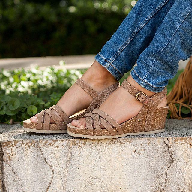 Panama Jack Vera Taupe Napa Grass Mujer Calzado