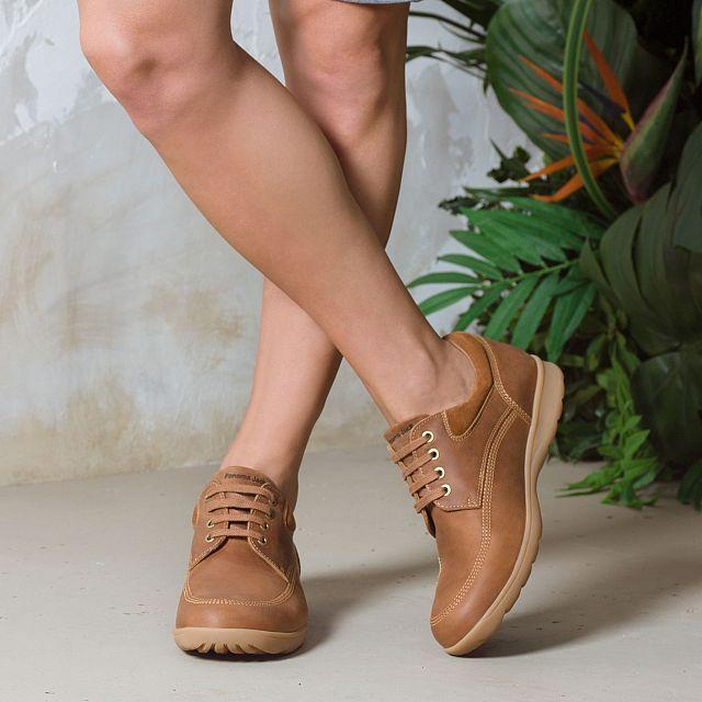 Zapato de piel cuero