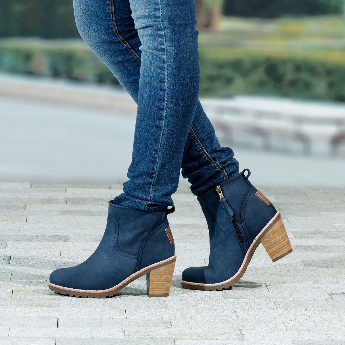Womens ankle boots arles blue panama jack 174 online shop