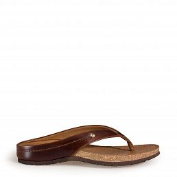 Arturo Clay Bark Pull-Up Man Footwear