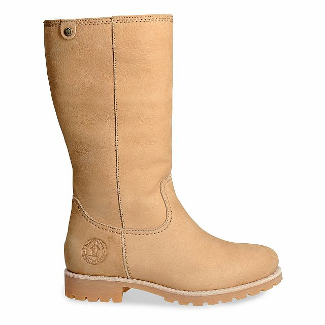 Bambina Igloo Natural Nobuck Woman Footwear