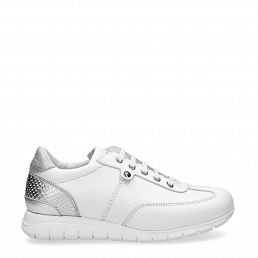 Banus White Napa Woman Footwear