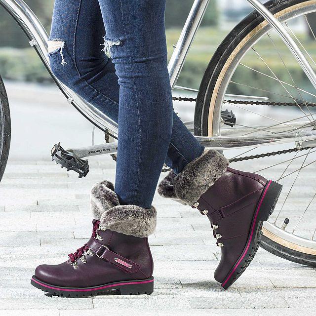 Baruska Burgundy Napa Woman Footwear