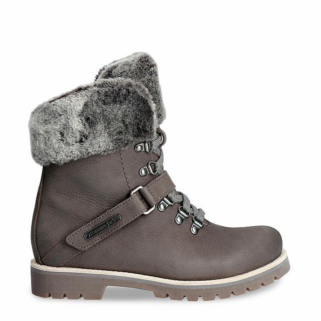 Baruska Grey Nobuck Woman Footwear