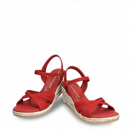 Benisa Red Nobuck