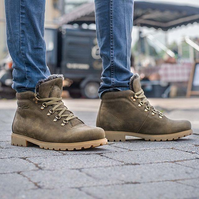 Panama Jack Bergamo Khaki Nobuck Man Footwear