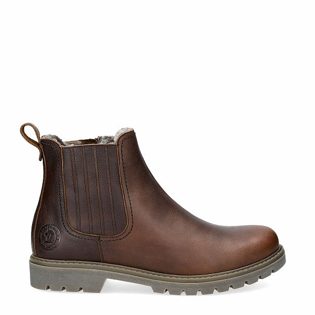Bill Igloo Chestnut Napa Grass Man Footwear