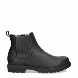 Bill Igloo Black Napa Grass Man Footwear