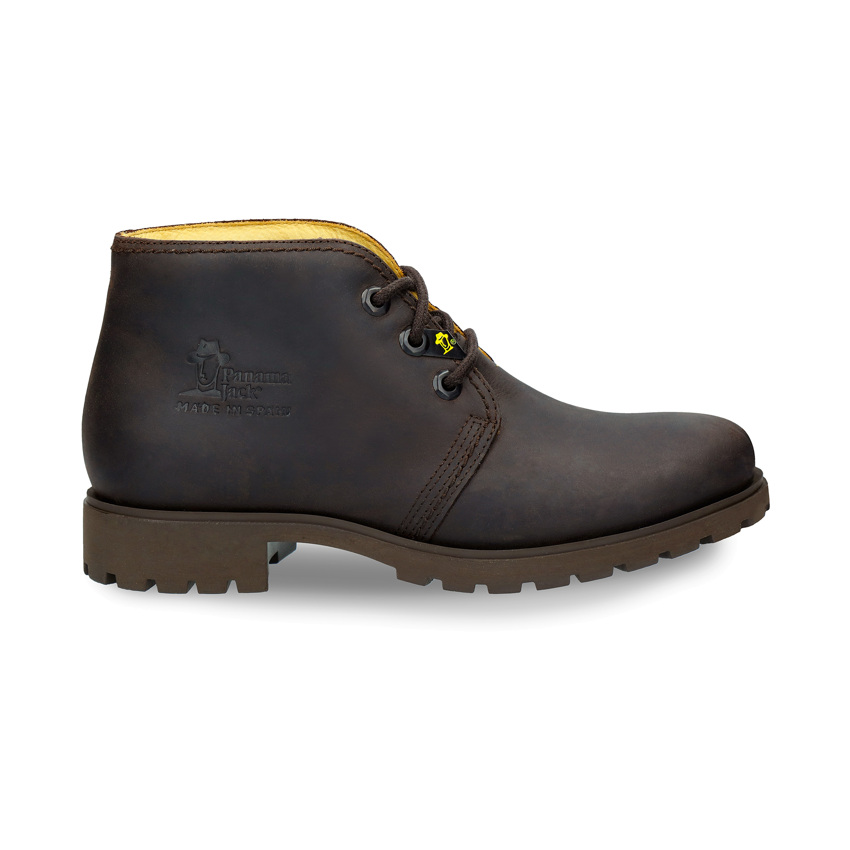 Bota Panama Women Marron Napa Grass