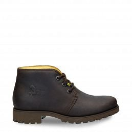 Ankle Chukka boots in brown with leather lining