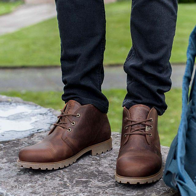 Bota Panama Bark Napa Grass Man Footwear