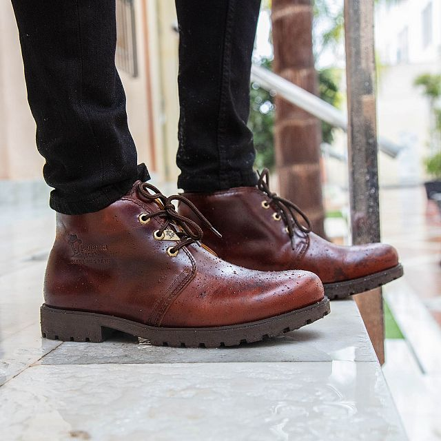 Bota Panama Bark Pull-Up Man
