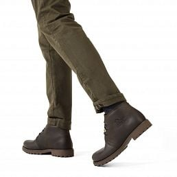 Bota Panama Men Brown Napa Grass