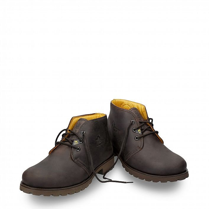 Bota Panama Men Marron Napa Grass