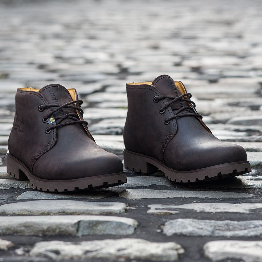 Bota Panama  Brown Napa Grass