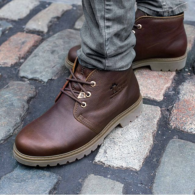 Bota Panama Chestnut Napa Grass Season-preview-man