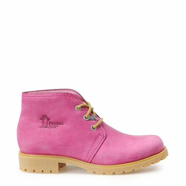 Bota Panama Colours Fuchsia Napa Woman Footwear