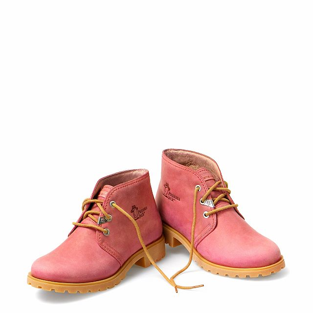 Bota Panama Colours Strawberry Napa Woman