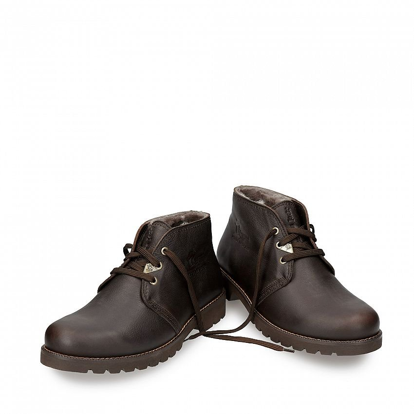 Bota Panama Igloo Brown Napa Grass