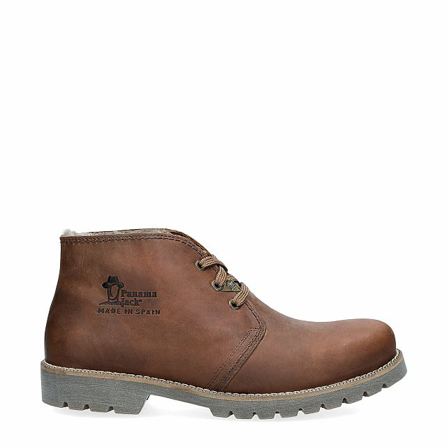 Panama Jack Bota Panama Igloo bark rugged Napa Grass Season-preview-man