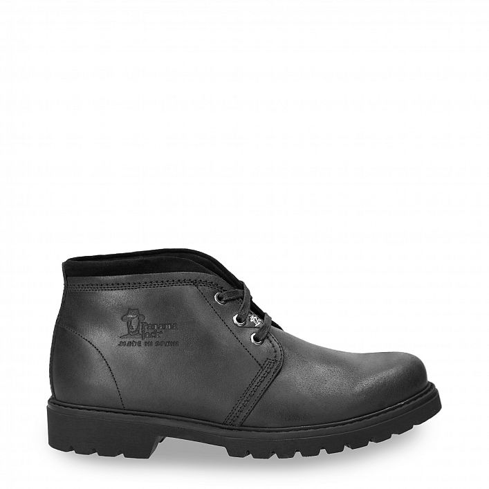 Bota Panama Tor Black Velour Grass