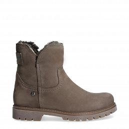 Brescia Grey Nobuck Woman Footwear