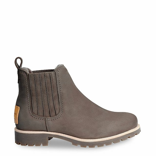 Brigitte Igloo Travelling Grey Nobuck Woman Footwear