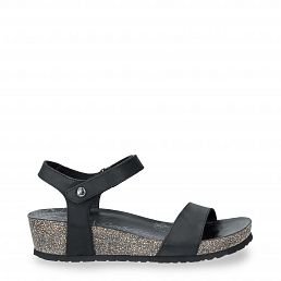 Panama Jack Capri Basics Black Napa Grass Woman Footwear