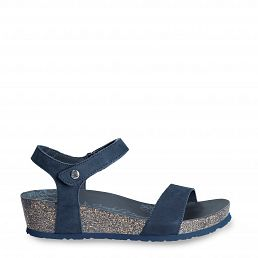Capri Basics Navy blue Nobuck Woman Footwear