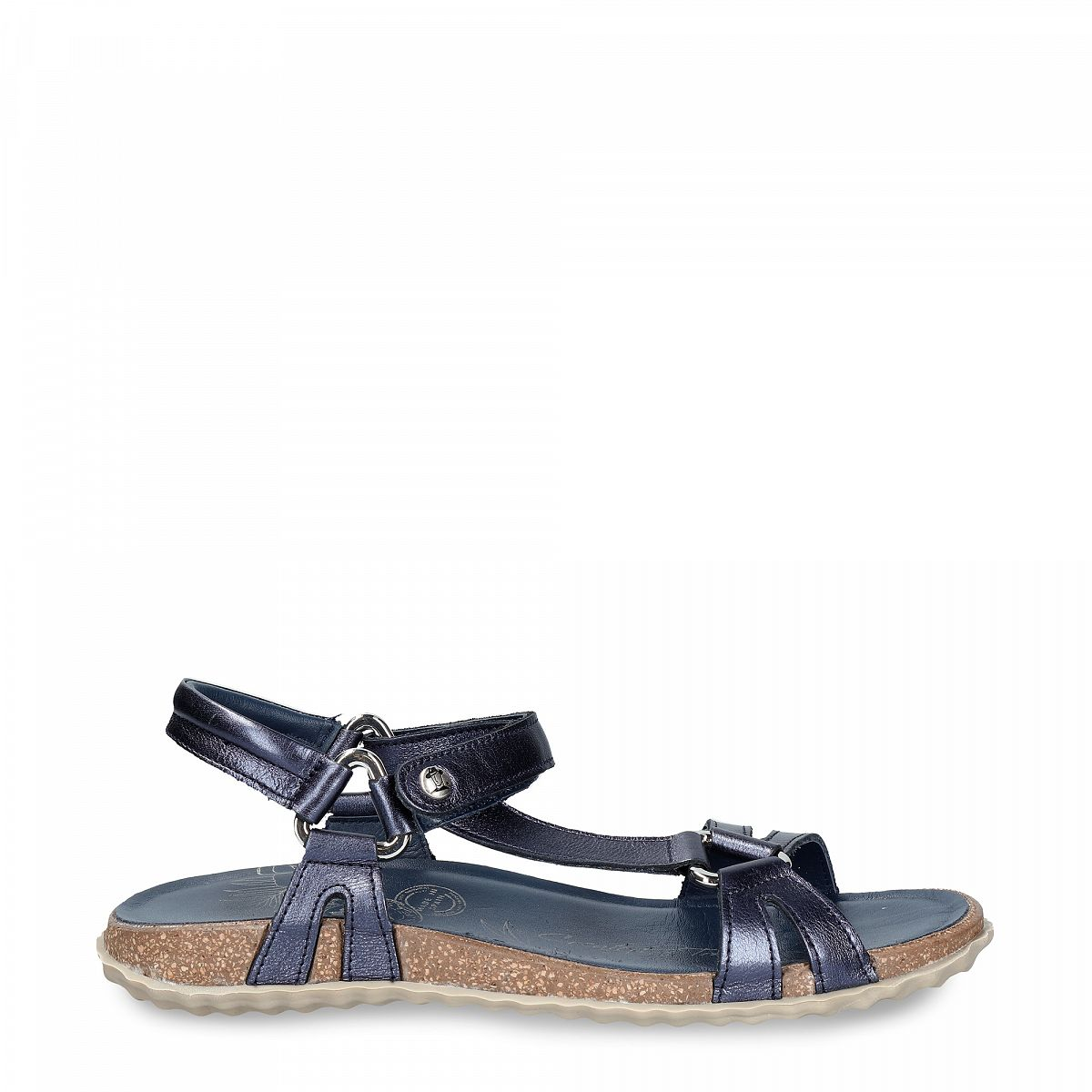 Caribeña Shine Navy blue Napa