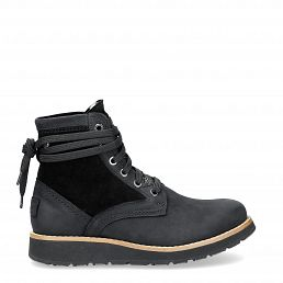 Clarence Black Nobuck Woman Footwear