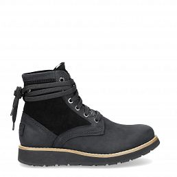 Clarence Igloo Black Nobuck