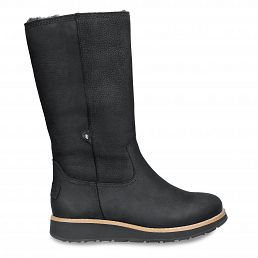 Columbia Black Nobuck Woman Footwear