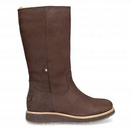 Panama Jack Columbia Brown Nobuck Woman Footwear