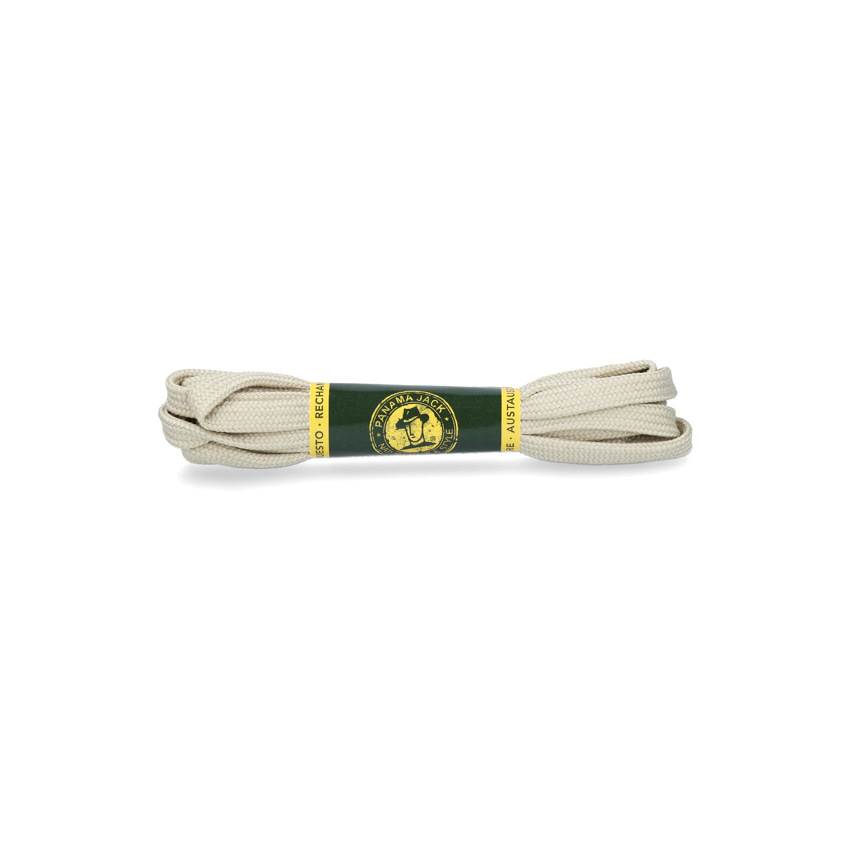 Shoelaces 125 Cm in raw colour Raw Poliester