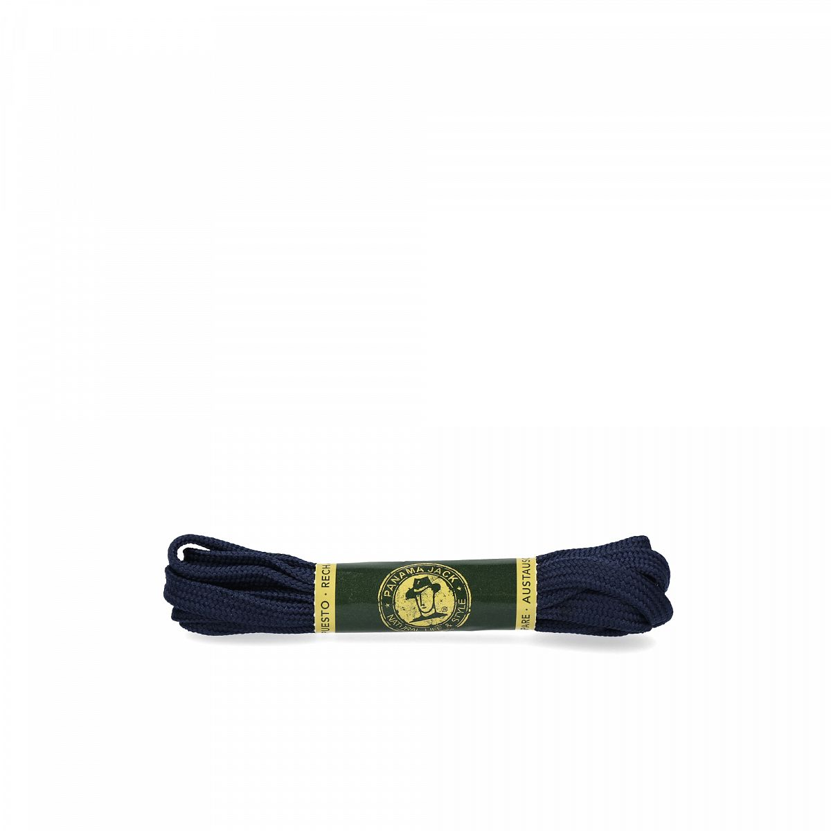 Shoelaces 125 Cm in navy Navy blue Poliester