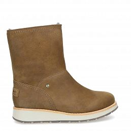 Cory Igloo Mink Nobuck Woman Footwear