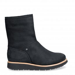 Cory Igloo Black Nobuck Woman Footwear