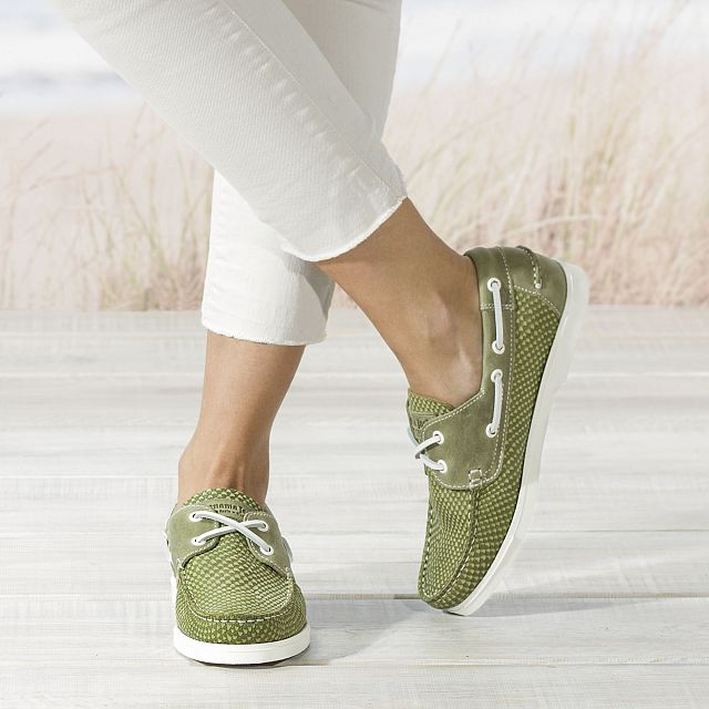 Costa Khaki Napa Woman Footwear