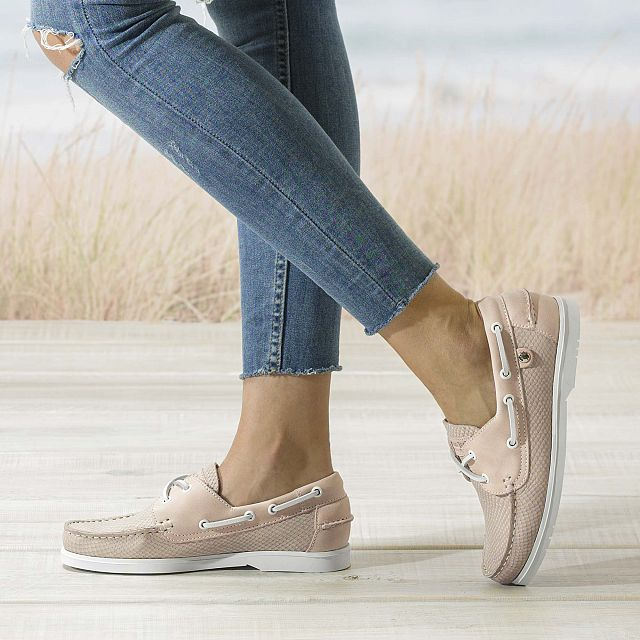 Costa Taupe Napa Woman Footwear
