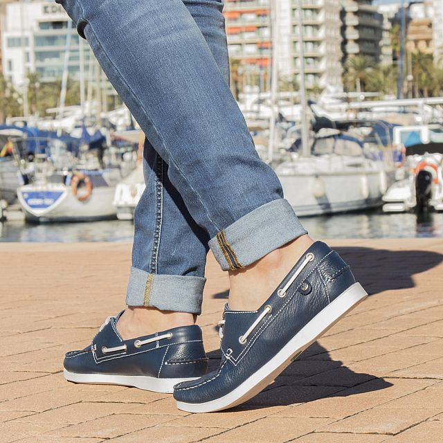 Panama Jack Costa Marine blauw Nappa Season-preview-man