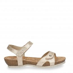 Dania Malibu Golden Napa Woman Footwear
