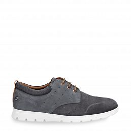 Panama Jack Detroit Grey Nobuck Man Footwear