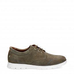 Detroit Khaki Nobuck Man Footwear