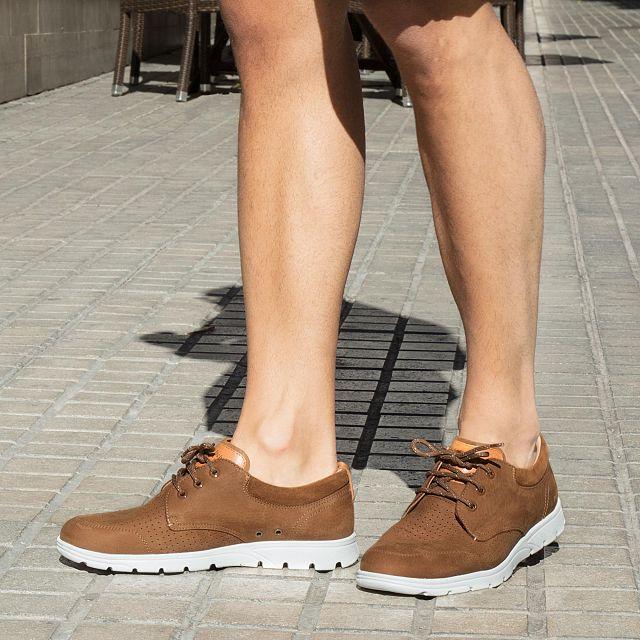 Panama Jack Dominic Bark Nobuck Man Footwear