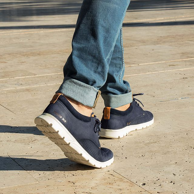 Dominic Marine blauw Nubuck Season-preview-man